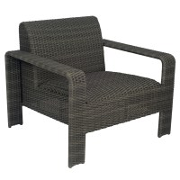 Woodard Darville Lounge Chair and Table Patio Set