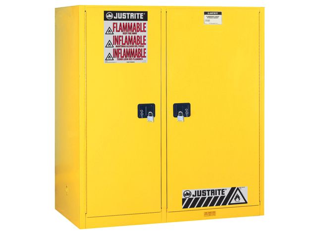 Flammable Storage Cabinet 55 Gallon Drum With Rollers And