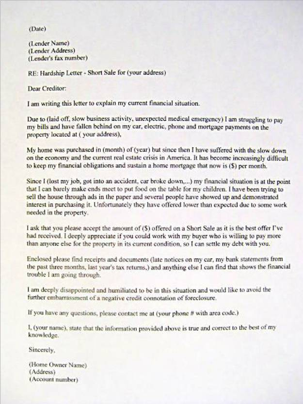 Nhs Letter Of Recommendation Sample letter examples sample financial hardship letter sample cover letters x