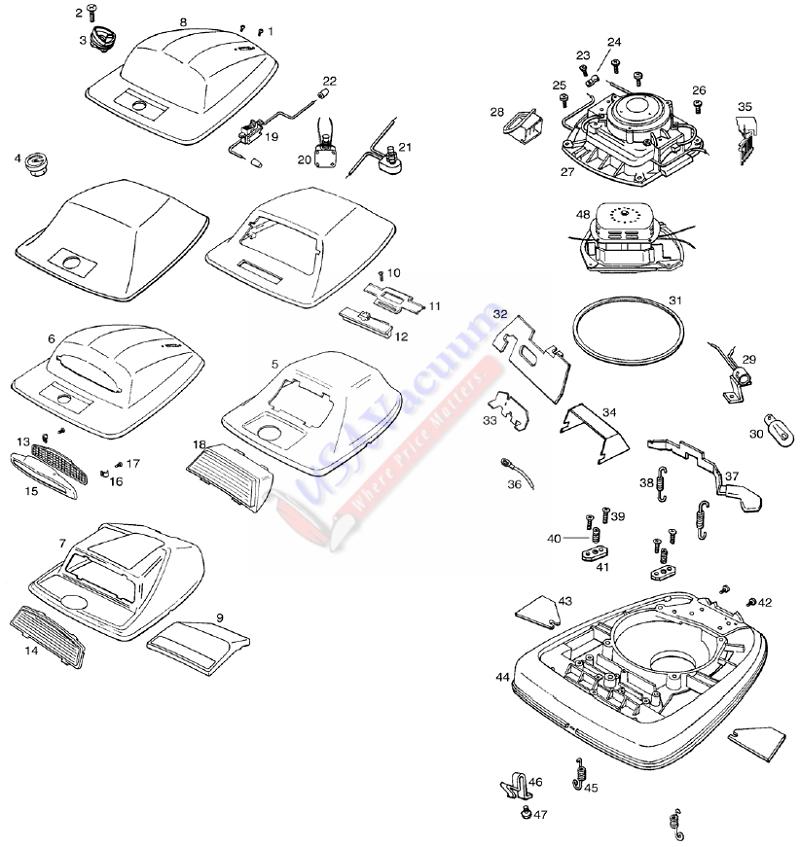 Eureka Vacuum Wiring Diagram - Wiring Diagram Write