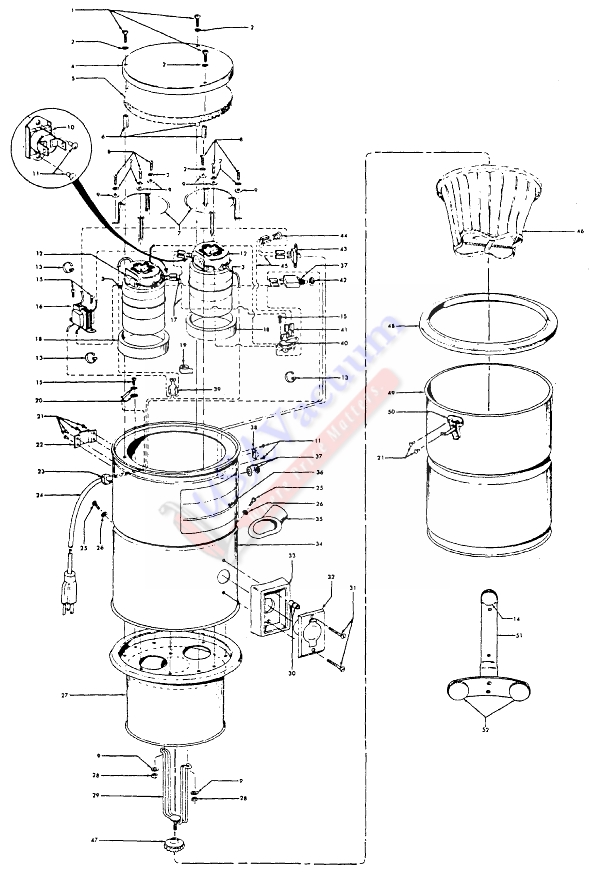 Hoover Central Vacuum Wiring Diagram - Wwwcaseistore \u2022