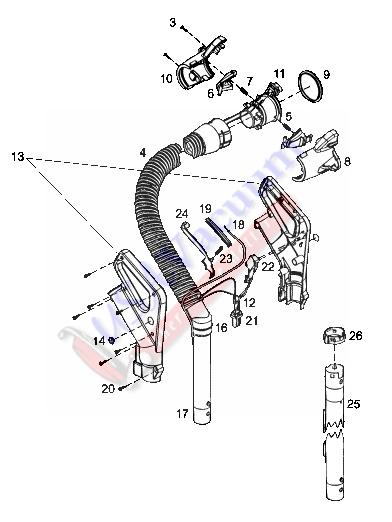 rainbow se vacuum wire diagram
