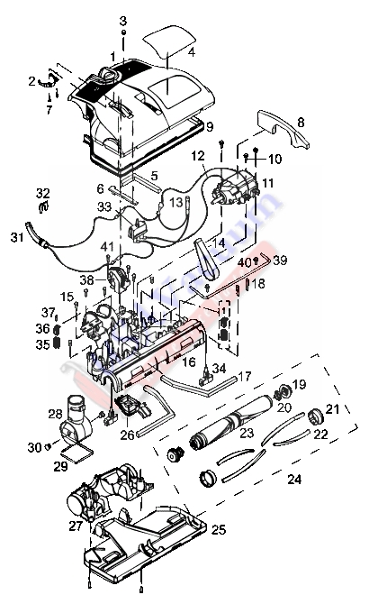 rainbow se series vacuum switch wiring schematic
