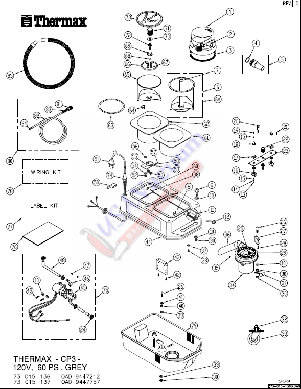 thermax cp5 wiring diagram