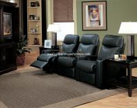Coaster Director Casual Upholstered Reclining Theater ...