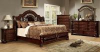 4 Piece Flansreau Bedroom Set Brown Cherry Finish - USA ...
