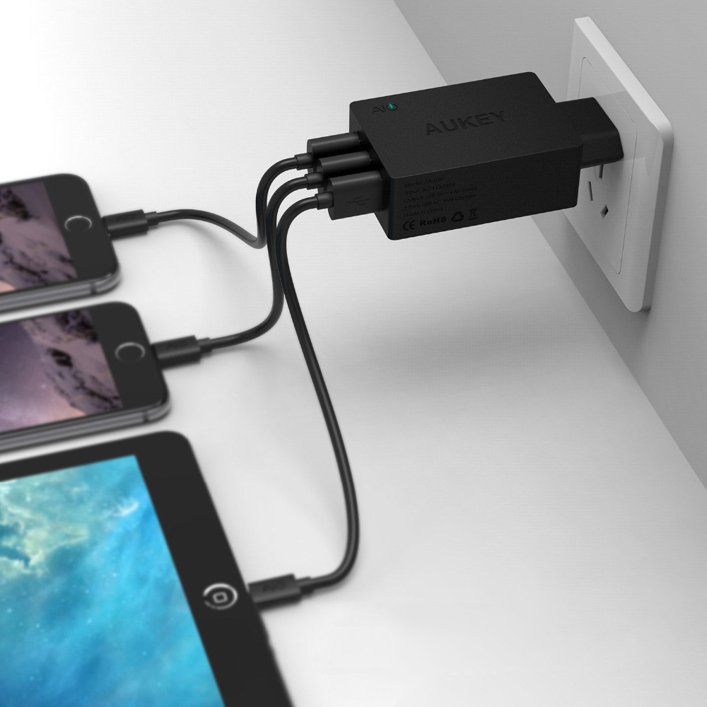 AUKEY AIPower™ 3-Port USB-Charger