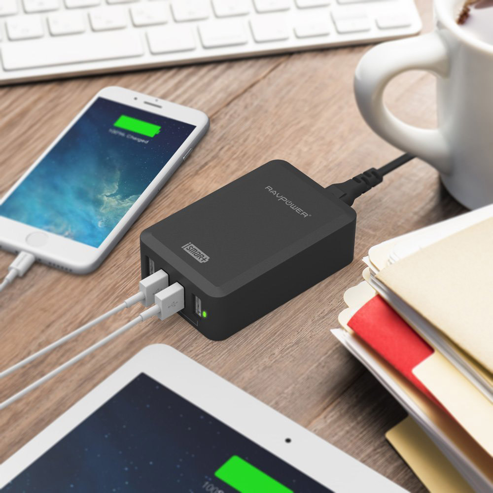 RAVPower 4-Port USB-Charger