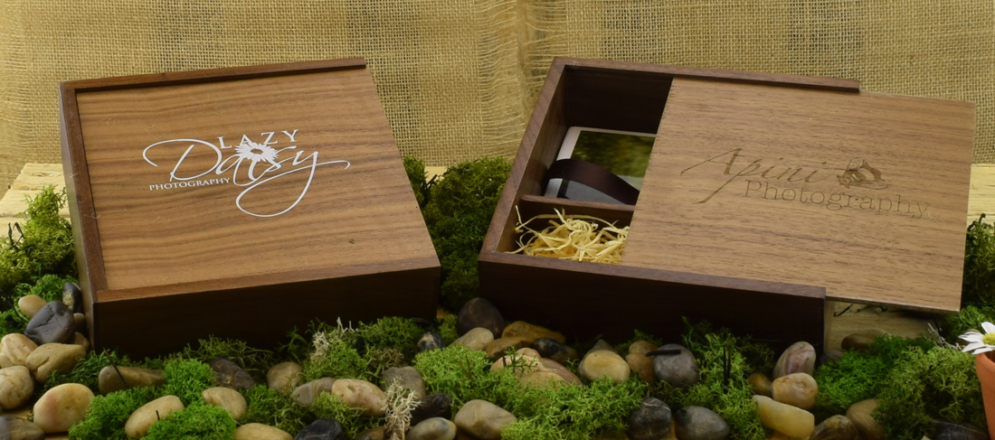 Wooden USB  Photo Prints Gift Box - USB 4 Photographers USB