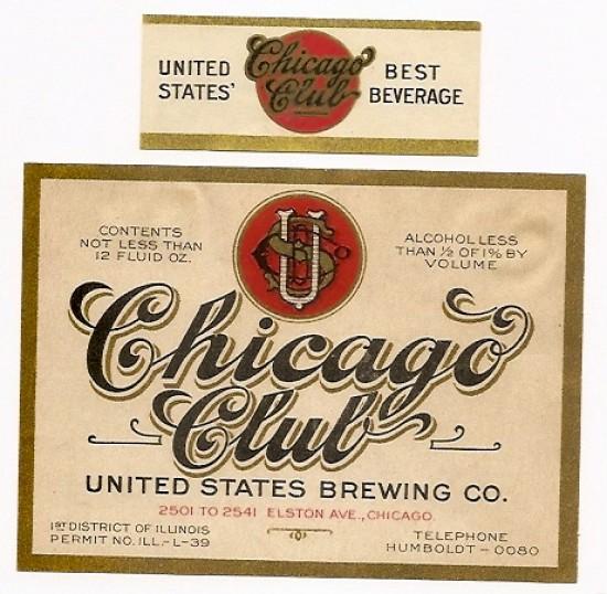 Labels Sprenger Pilsener Beer Sprenger Brewing Company (Post - beer label