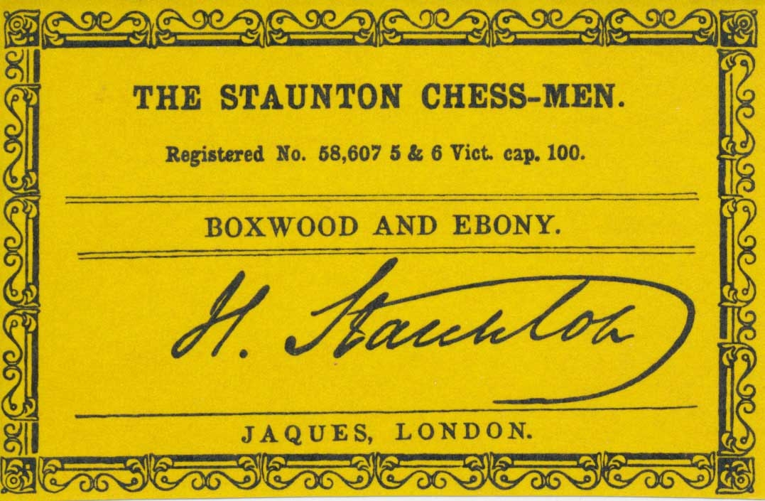 Reproduction of the Circa 1856 Anderssen Style Staunton Chess Pieces