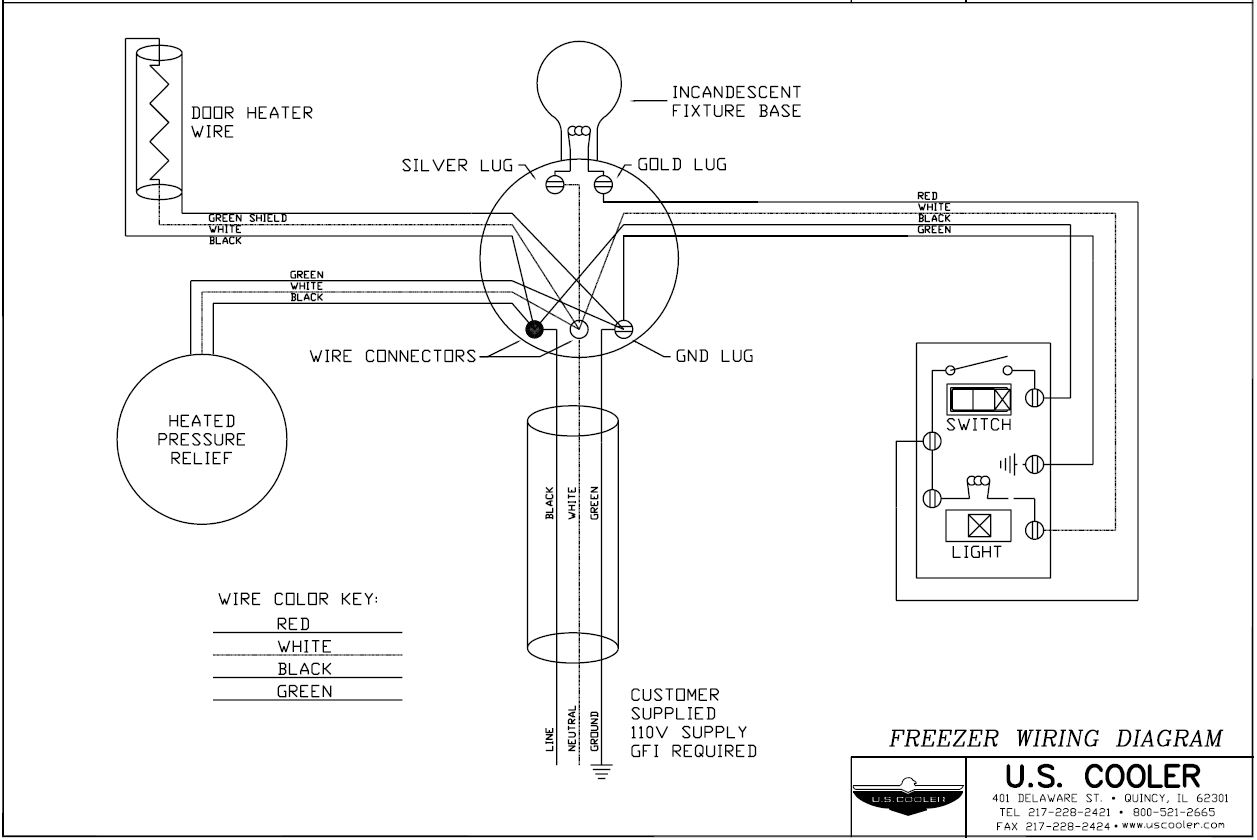 cold storage electrical wiring diagram