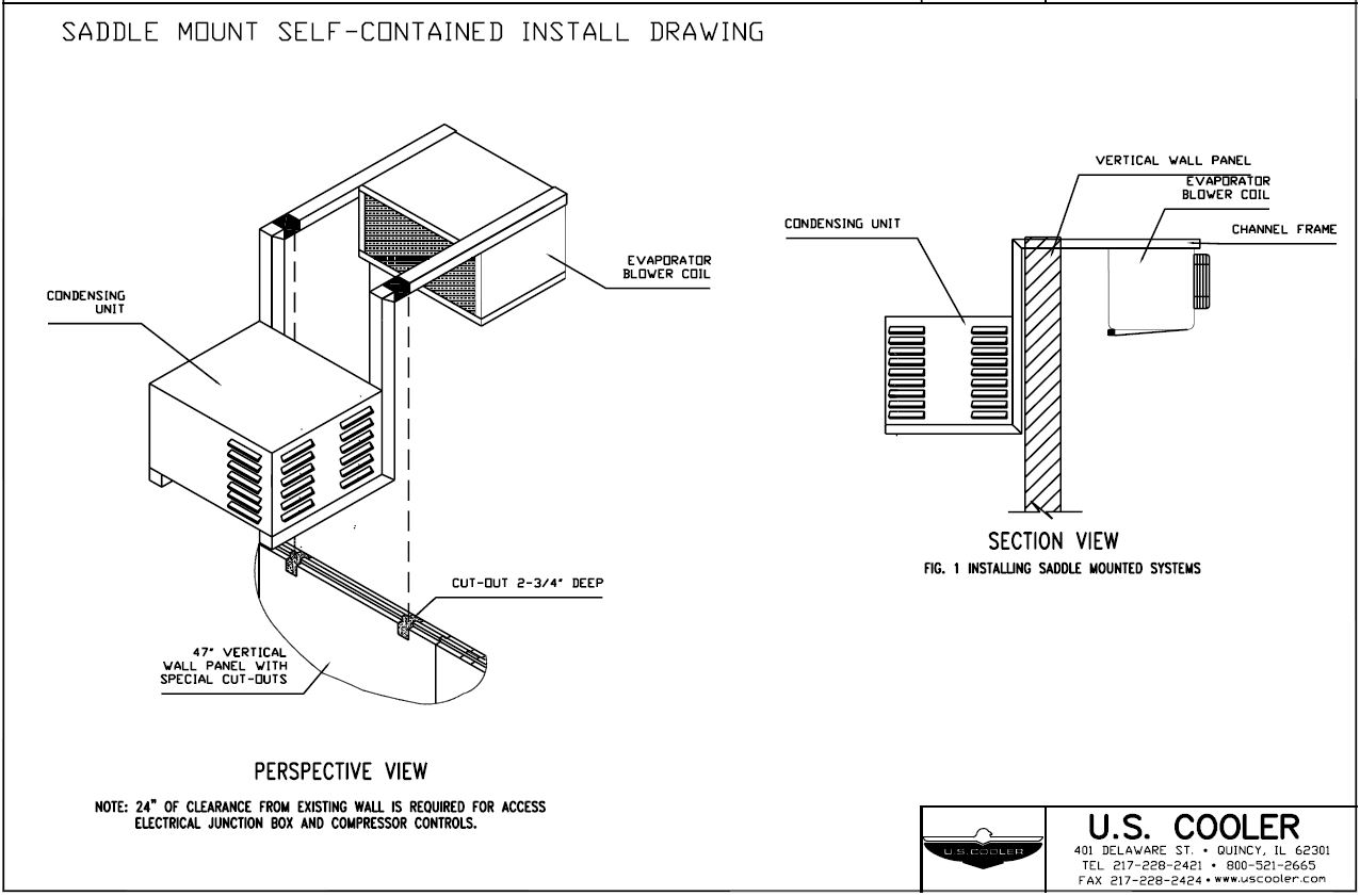 Technical Design Drawings Us Cooler