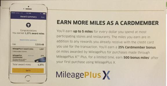 """""""Give it 500 miles"""" Mileage Plus x (MPX) walkthrough-shop-save point balance"""