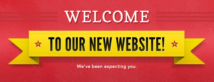 Welcome to the new site