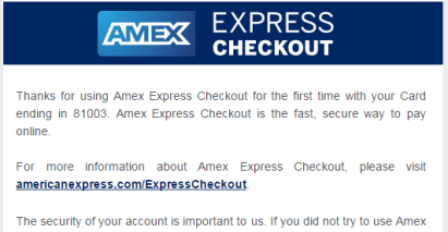 """Expired"" Amex Check Out--a 10 knife small wool"