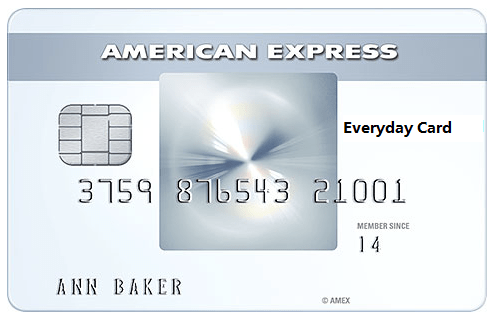 AMEX Everyday Card (ED)--MR spare tire