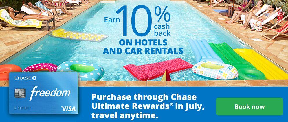 【7/21更新:租车酒店10x 返点】Chase Freedom——我的追分之旅
