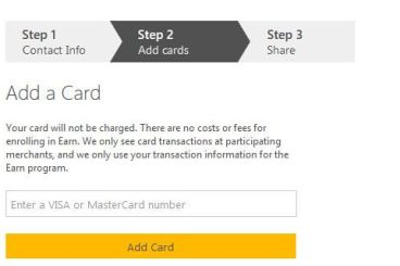 """""""4/19 update: Credit"""" Earn By Microsoft user's Guide – dialogue with cash back"""