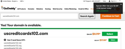 swagbucks+godaddy花http://www.uscreditcards101.com/wp-content/uploads/2016/09/2016092800525912=倒赚+一年免费域名【10/20更新:倒赚】