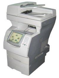 Lexmark X646e All-in-One FAX Kopierer Scanner Laserdrucker ...