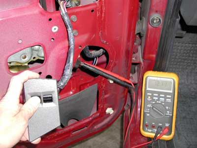 Diagnosing  Replacing The Power Window Motor In An S10 Blazer