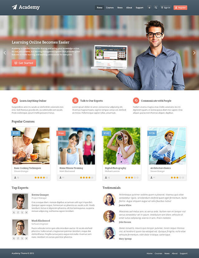 20 Best Education WordPress Themes for 2018