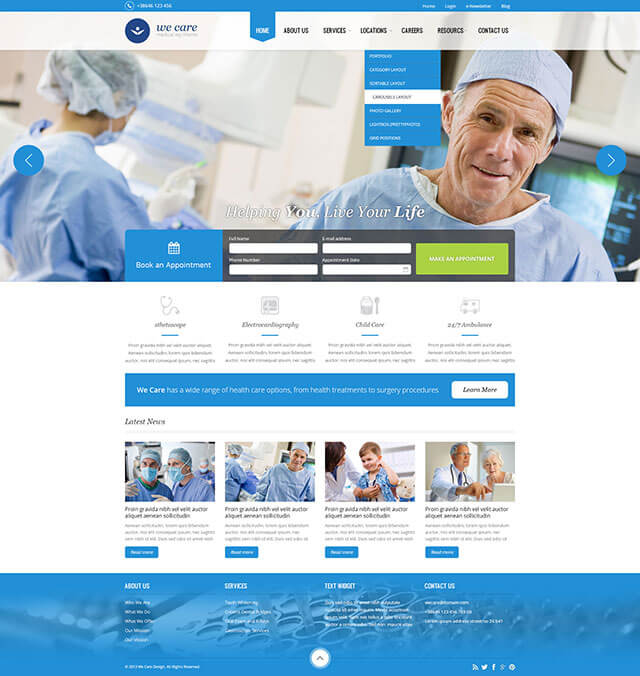 28 Best Health  Medical WordPress Themes 2018