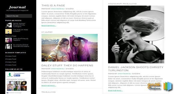 17 Best Fashion  Magazine Blogger Templates 2018 - Useful Blogging - fashion blogger templates