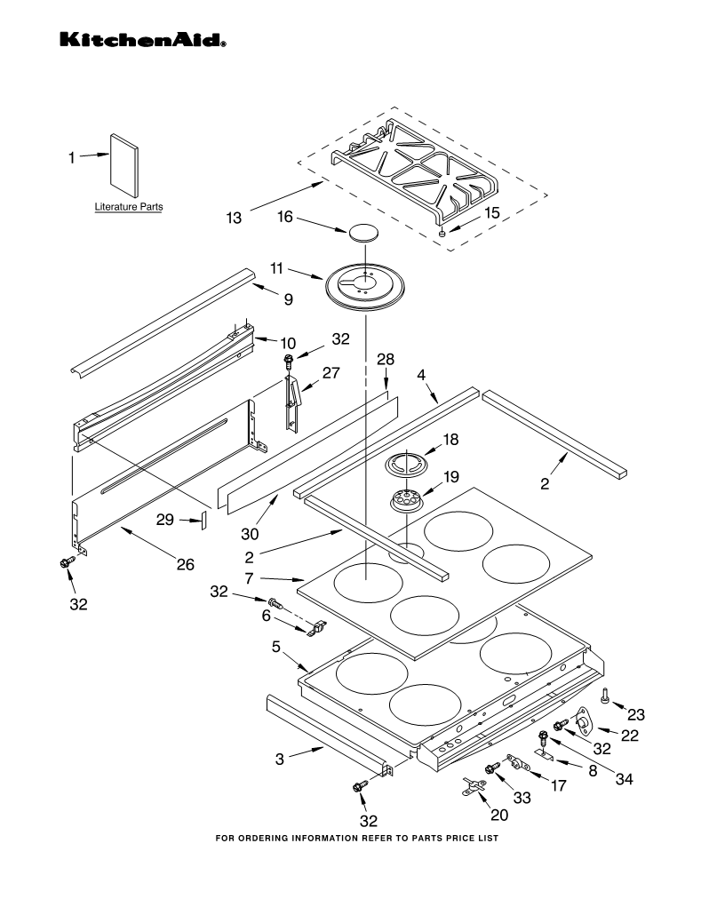 Parts For K45ss Auto Electrical Wiring Diagram Kitchenaid Kv25g0xww4 List And Ereplacementpartscom Appliance Calgary Kitchen Appliances San