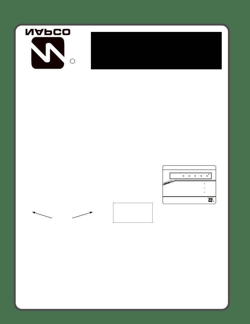 wiring diagram napco 1632