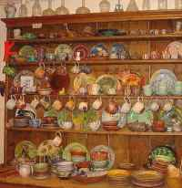 Ann Stokes, earthenware potter