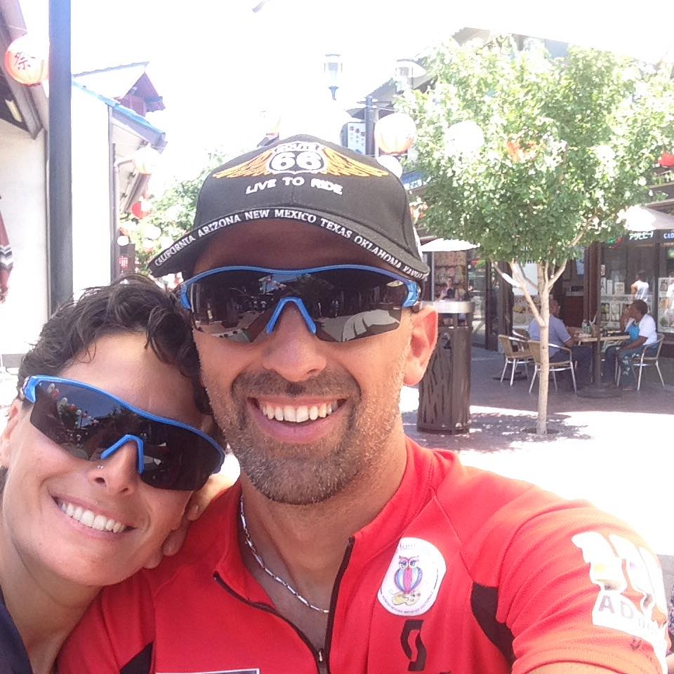 Giuseppe e Giovanna finalmente a Los Angeles. Missione Compiuta.