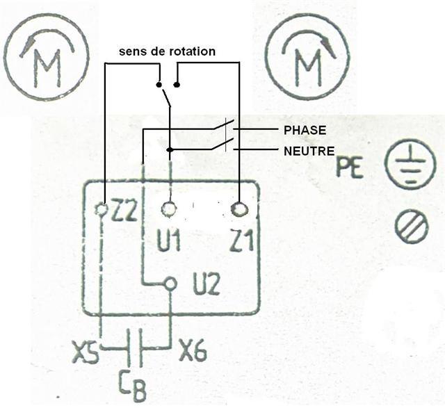 gta motor schema moteur monophase deux