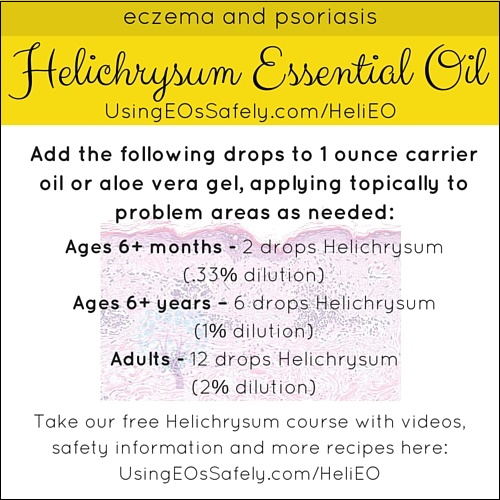 Using Helichrysum Essential Oil Safely Using Essential Oils Safely - essential oil for psoriasis