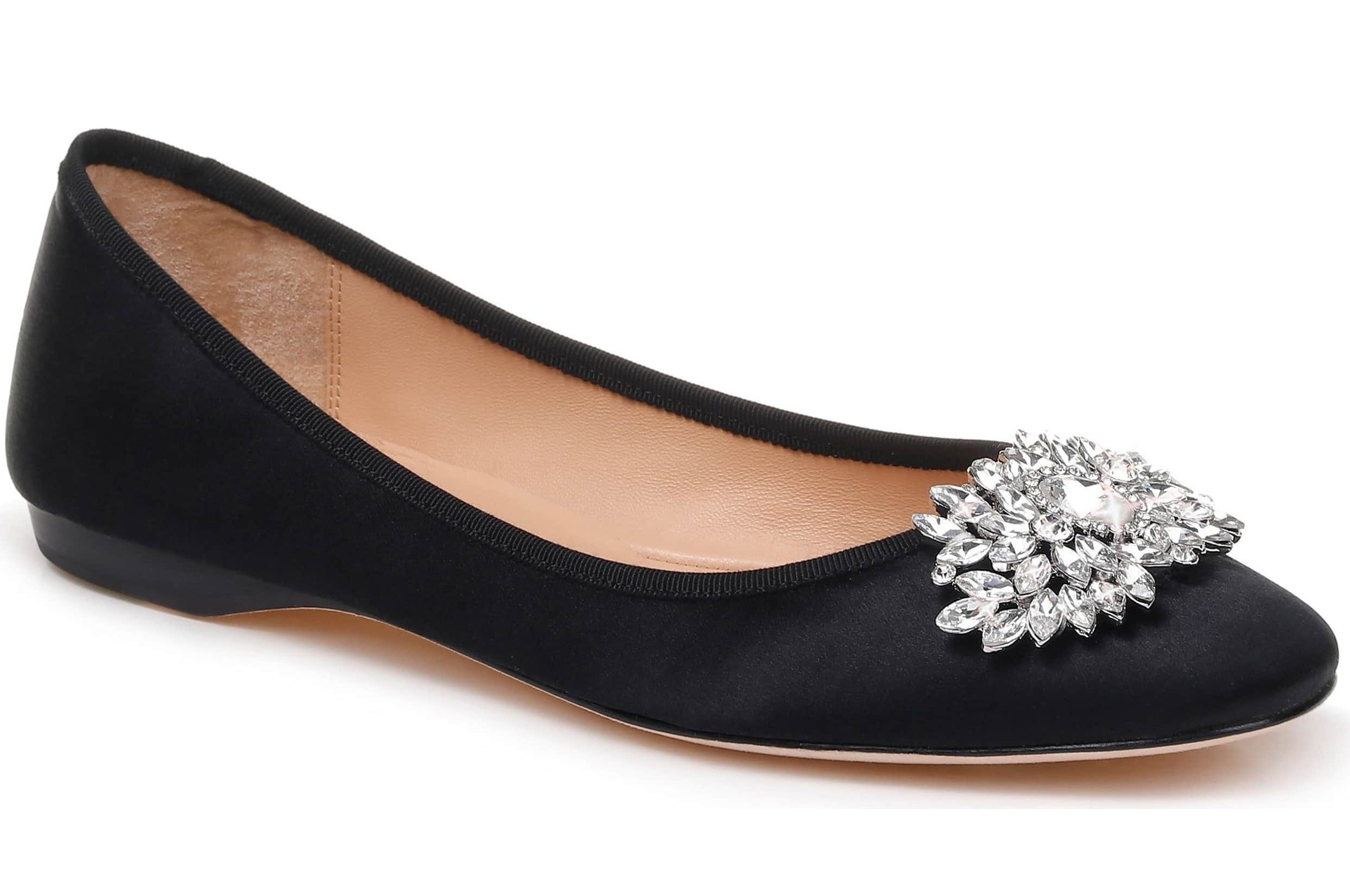 Bejeweled Foldable Flats To Wear When High Heels Start To Hurt