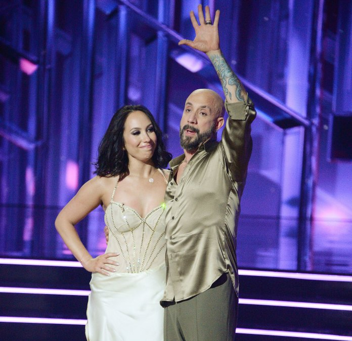 Cheryl Burke and AJ McLean Connect Over Sobriety During Emotional Dancing With The Stars Episode