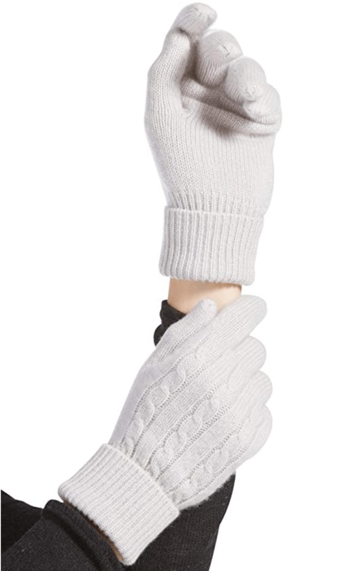 Fishers Finery Women's 100% Pure Cashmere Gloves