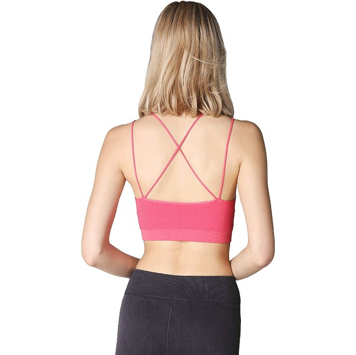 NIKIBIKI Seamless Criss Cross Ribbed Crop Top Cami
