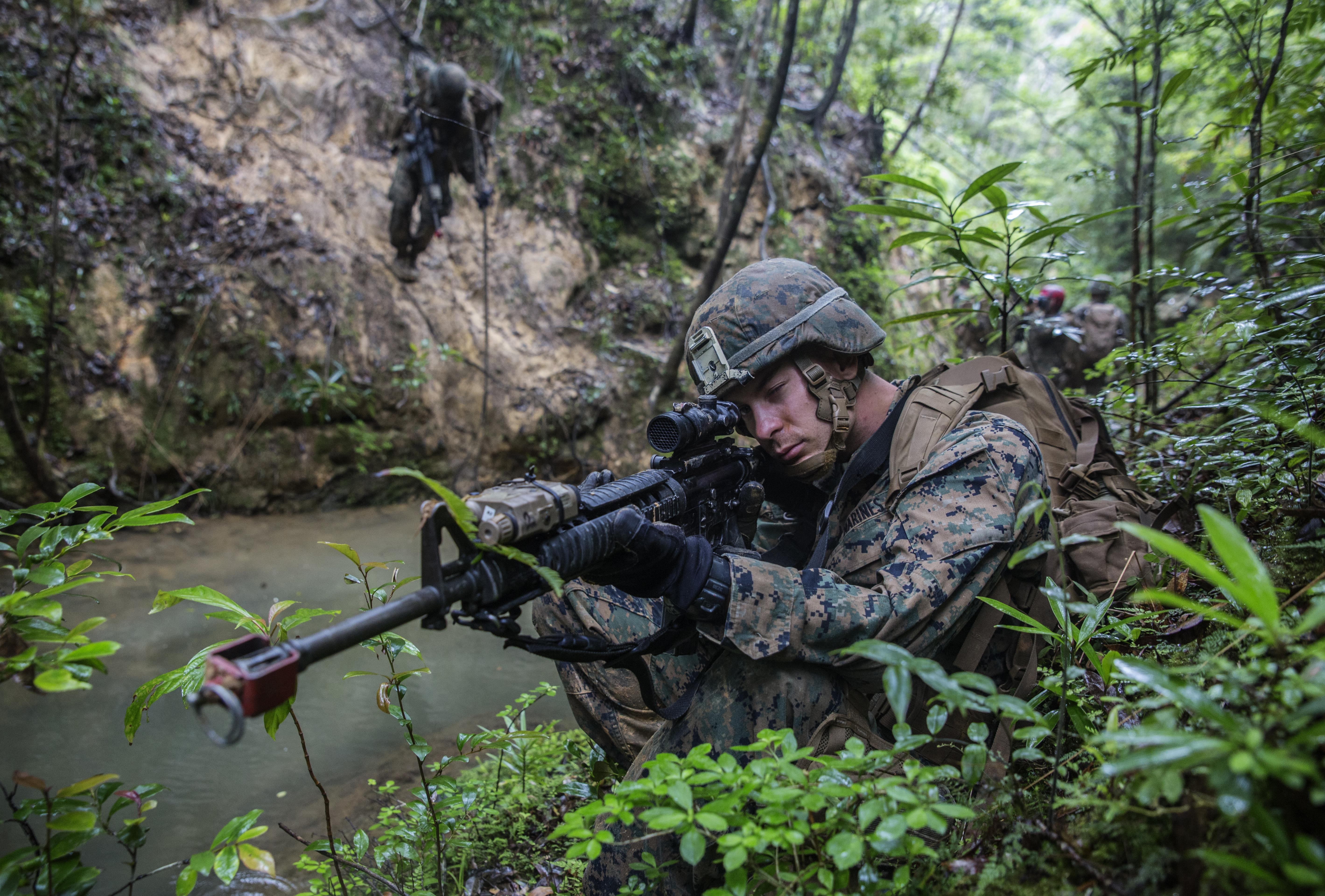 Marines Will Be Testing New Fast Drying Uniforms And Boots