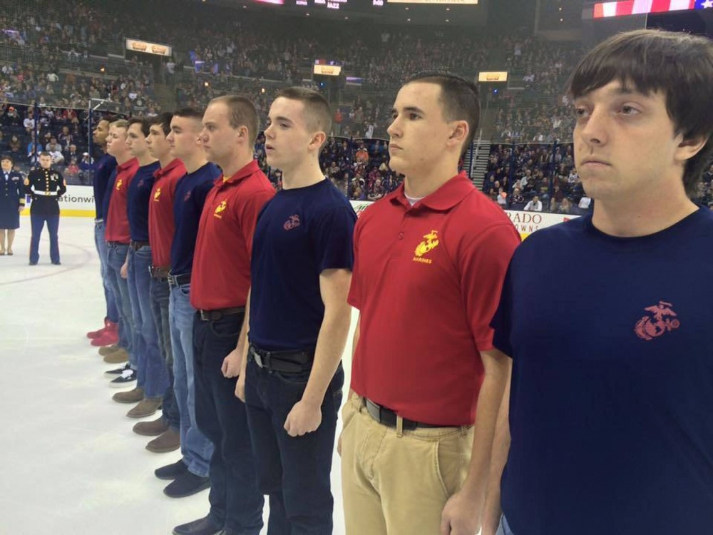 marine-poolees-take-pledge-on-the-ice - USMC Life