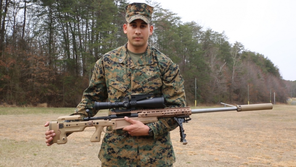 Marine Corps snipers receive new Mk13 Sniper Rifle with increased