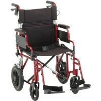 Nova Ortho-Med Deluxe Lightweight Transport Chair ...