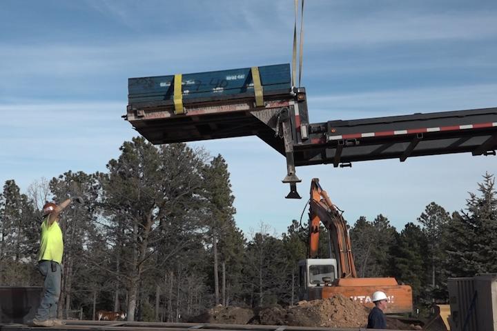 Custom Modular Home Installed in the Black Hills