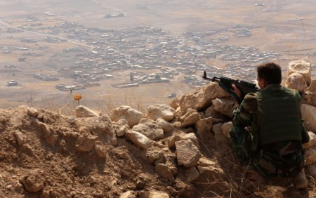 Kurdish Troops Advance On Kirkuk