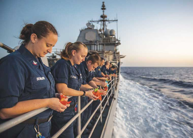 From the Deckplates - Silence Kills US Naval Institute - us navy master at arms
