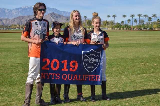 Bush League: Riley Jordan, Quinn Kyle, Elise Pardue, Micaela Saracco.