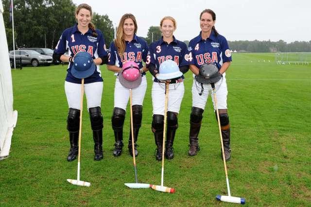 USA's Julia Smith, Maureen Brennan, KC Krueger and Kristy Outhier.