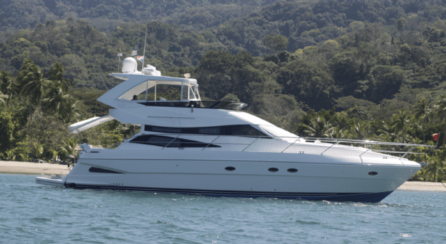Enjoy time on a 60' yacht in Costa Rica.