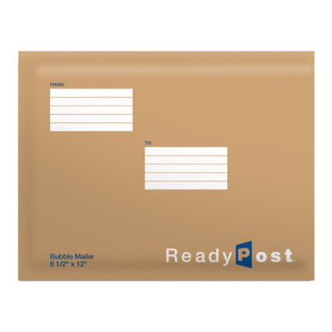 ReadyPost 8 1/2 x 12-inch Bubble Mailers USPS - 1/2^x